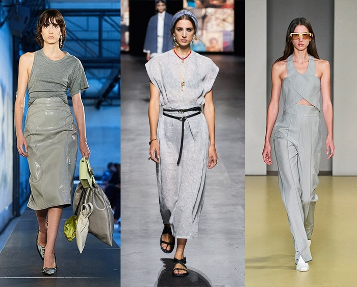 Color trends for spring - gray   40plusstyle.com