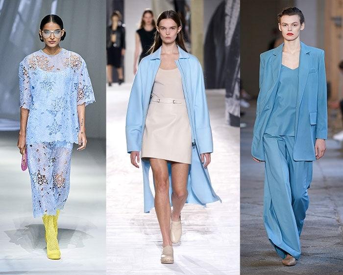 Color trends for spring - sky blue   40plusstyle.com