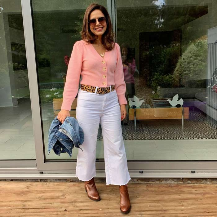 wearing on the waist | 40plusstyle.com