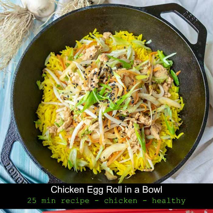 take out recipes, chicken egg roll, gluten free