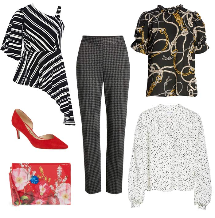 Mixing fashion prints and patterns   40plusstyle.com