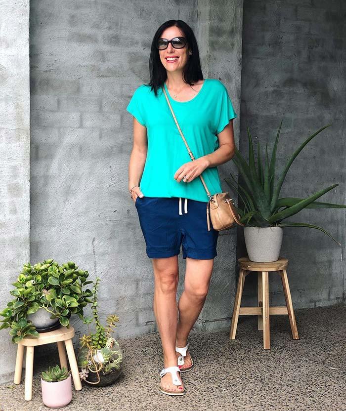 Best women's shorts - mid length   40plusstyle.com