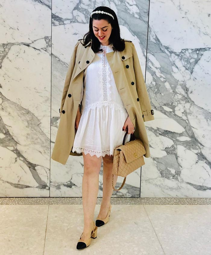 trench coats for tall women | 40plusstyle.com