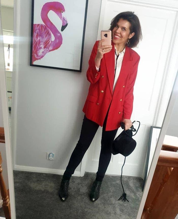 how to wear an oversized blazer   40plusstyle.com