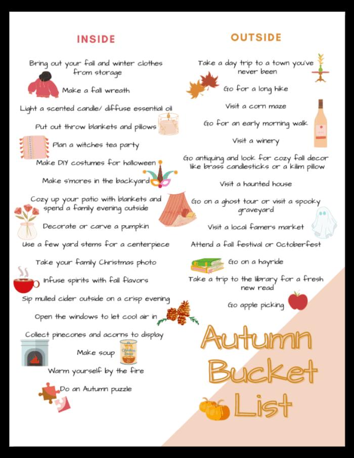 Autumn Bucket List Drop Shadow