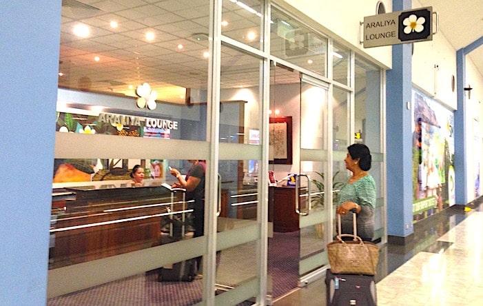 コロンボ空港のアラリヤラウンジの画像