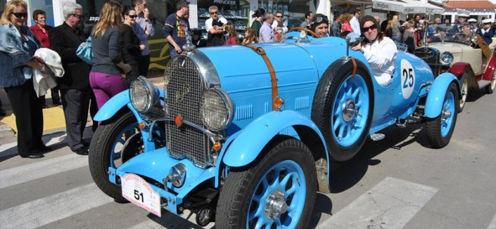 Raduno di auto d'epoca di Sitges