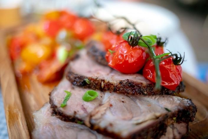 köstliches Fleisch modern angerichtet © Andreas Pöcking Fotograf in Erfurt