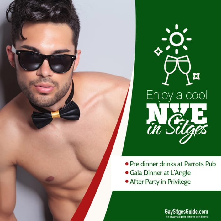 New Year's Eve in Sitges