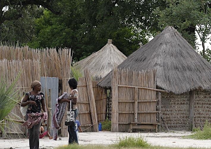 ボツワナの村