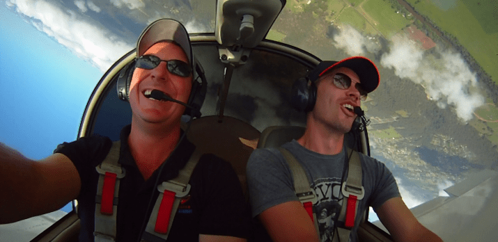 Aerobatics is fun!