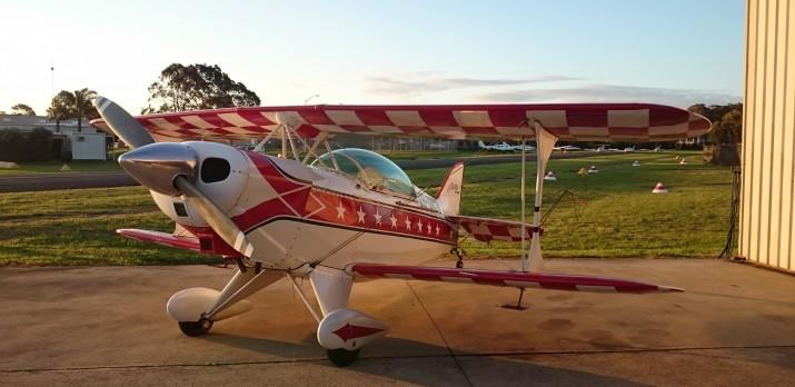 Pitts Special advanced aerobatics flight training aircraft