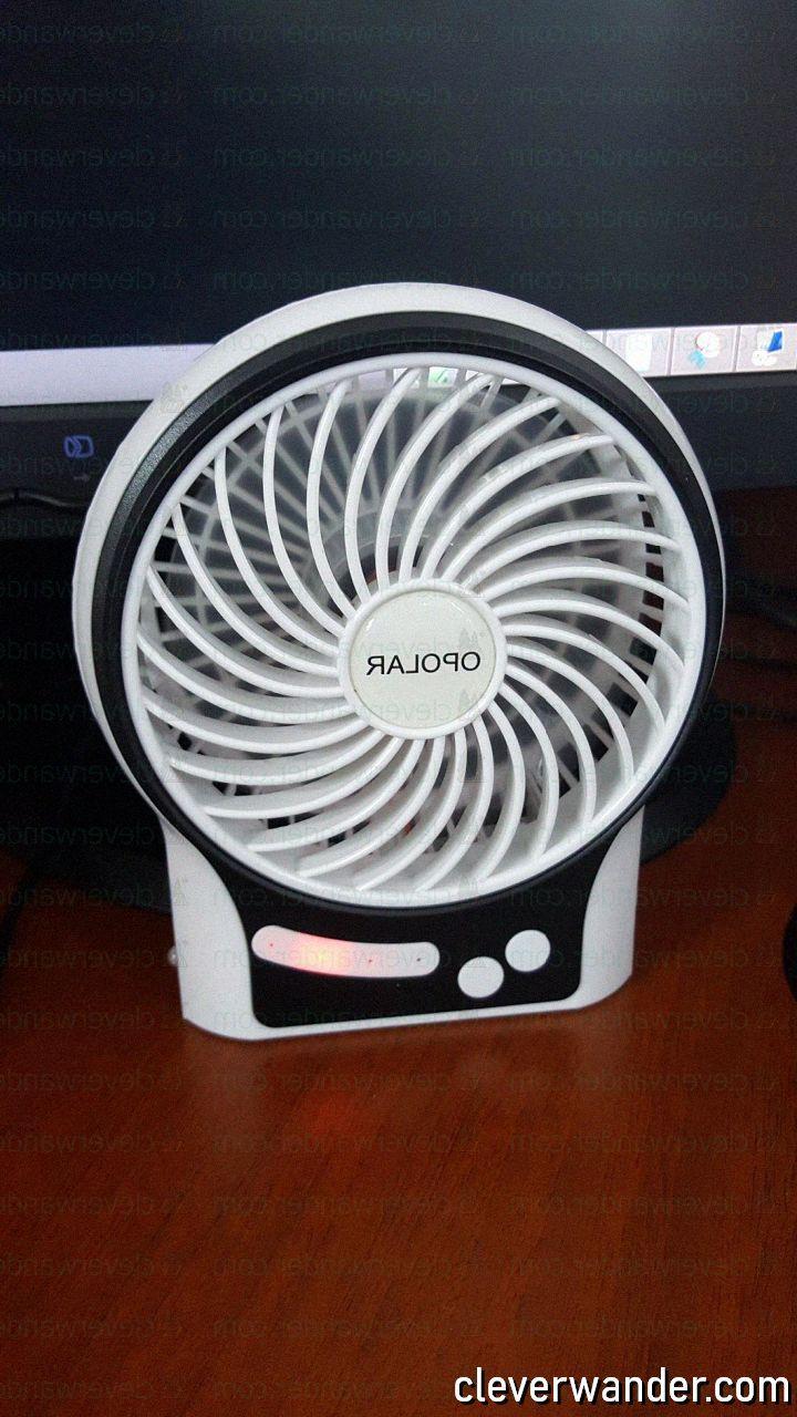 OPOLAR Mini Portable Battery Fan - image review 3