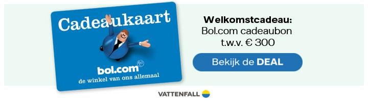 Bol.com cadeaubon vattenfall