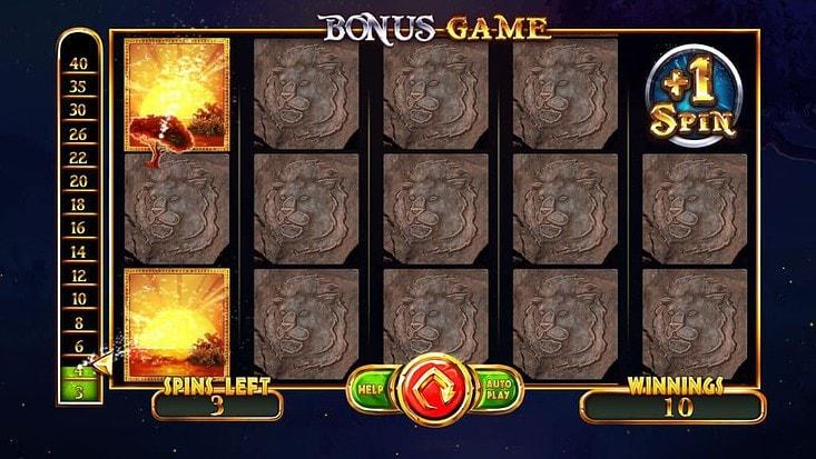 Majestic King Slots Bonus