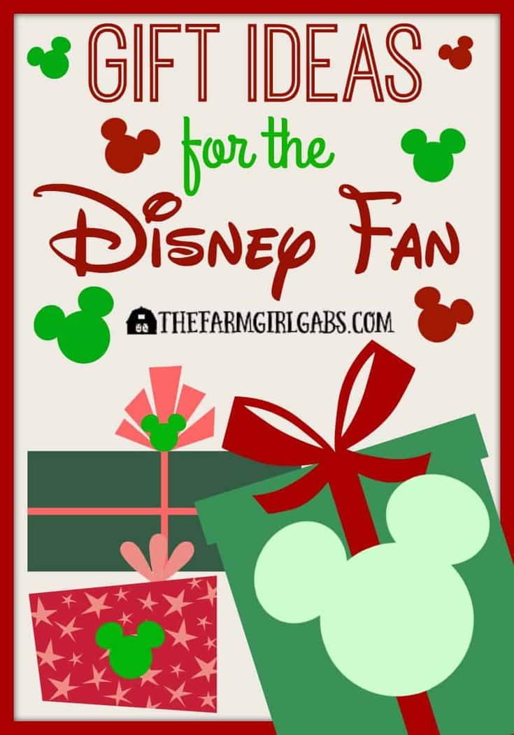 Simplify your Christmas Shopping for the Disney fan in your life. Here are some Gift Ideas for the Disney fan.