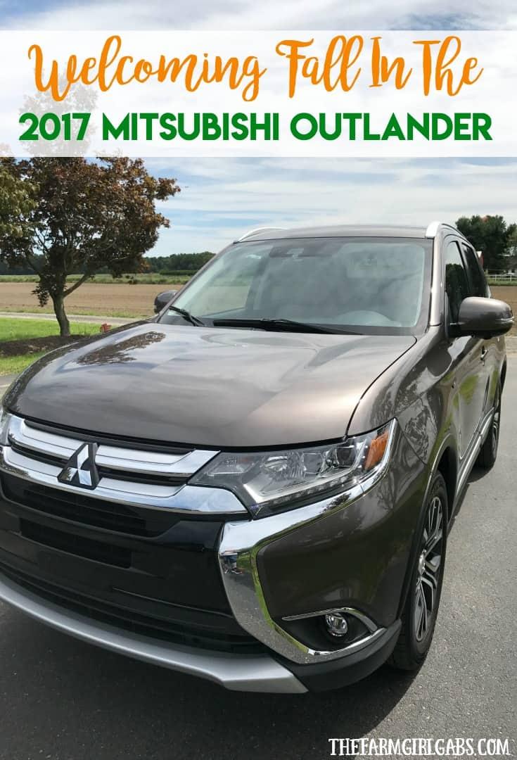 Welcoming Fall In The 2017 Mitsubishi Outlander. #DriveMitsubishi #Ad