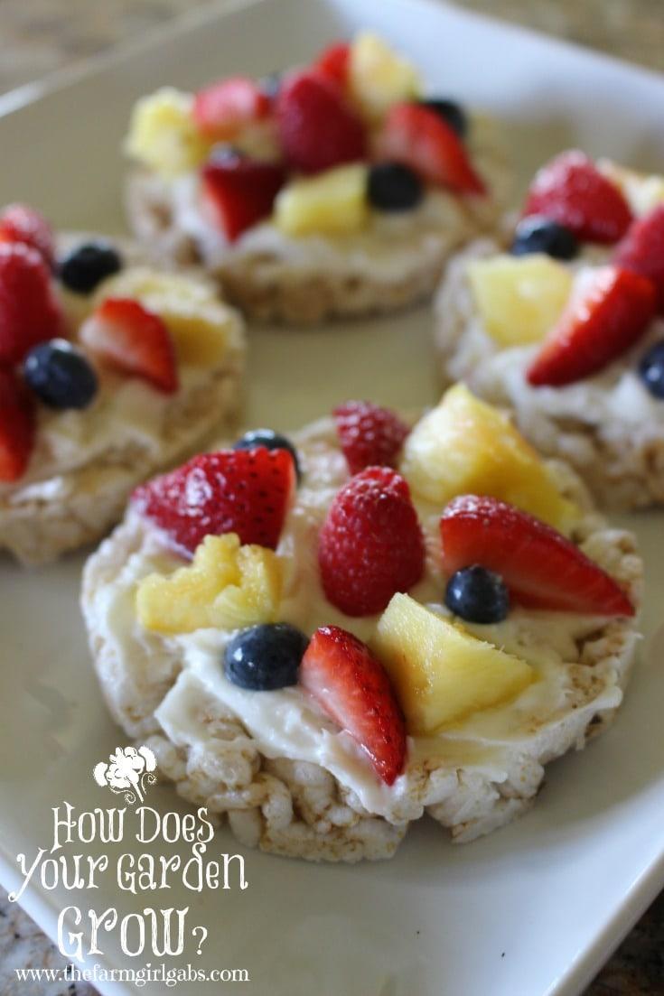 Fruit Pizzas 1 - Pinterest