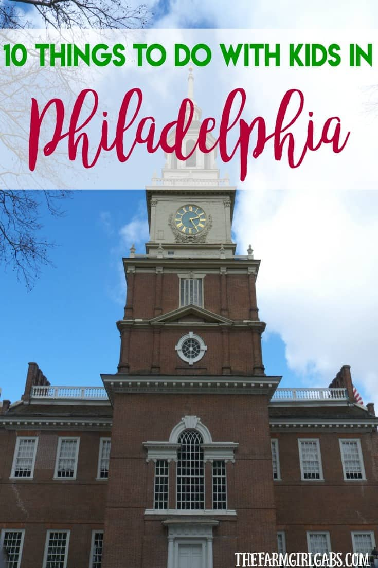 From history to culture, Philadelphia is such a fun place to visit with the family. Plan a trip there soon and check out these 10 Things To Do With The Kids In Philadelphia. #RoadTripTreats #Ad