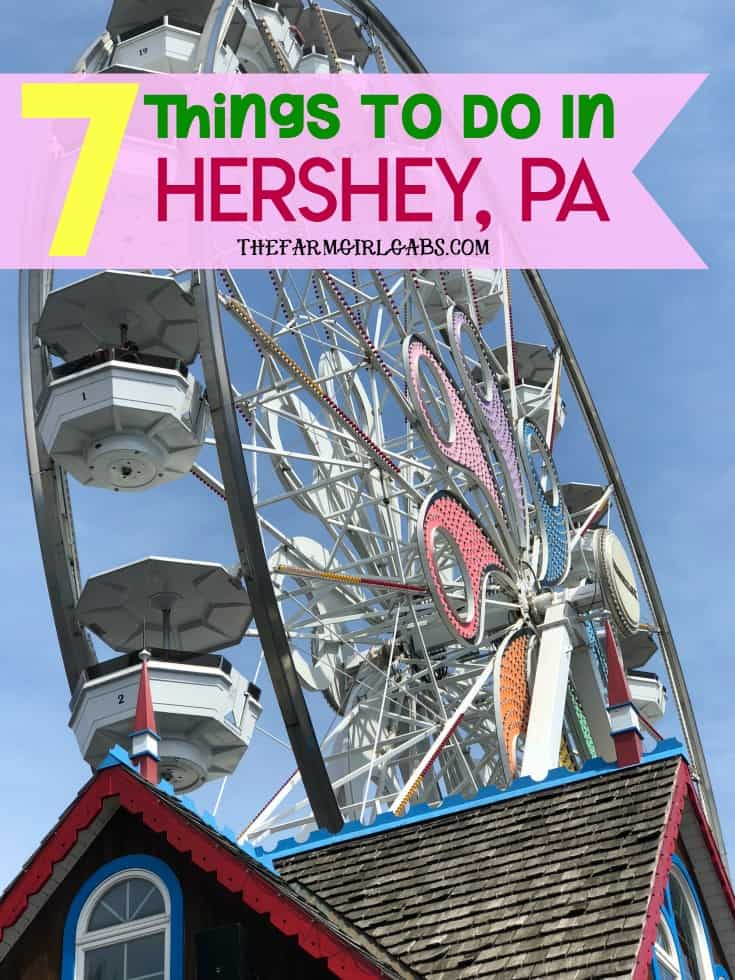 """Planning a visit to the """"sweetest place on earth?"""" Be sure to check out these Seven Things To Do In Hershey while you are there. #HersheyPA, #FamilyTravel #VisitPA, #travel #Vacation #TravelIdeas #FamilyTravelIdeas #Kids"""