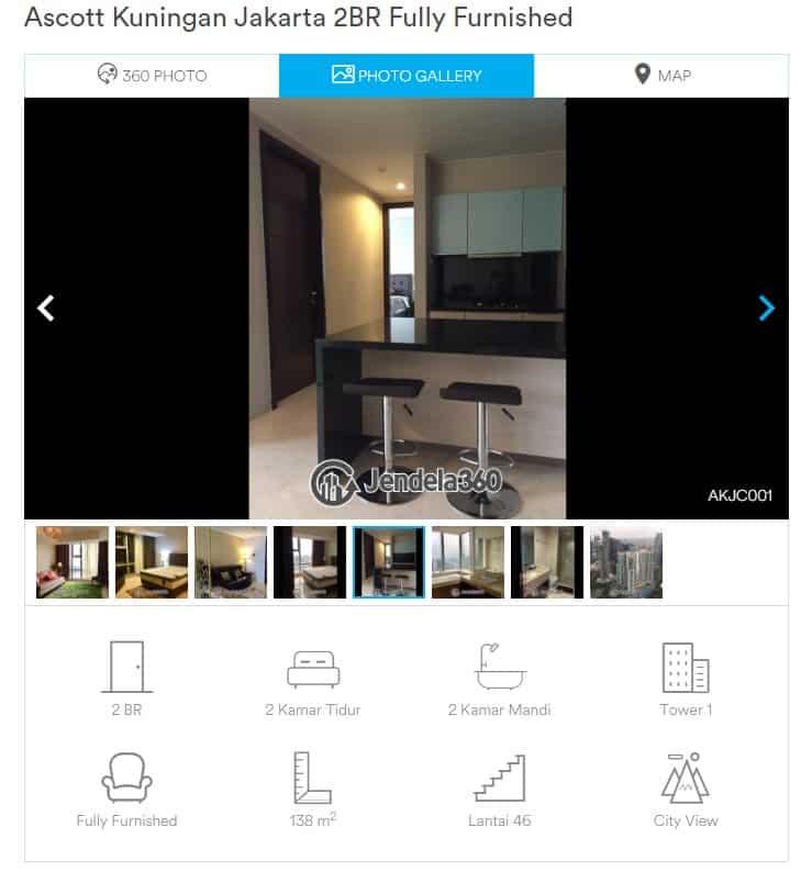 Sewa Apartemen Di Jendela360 Begitu Mudah Dan Lengkap, Simak Caranya Berikut Ini 3
