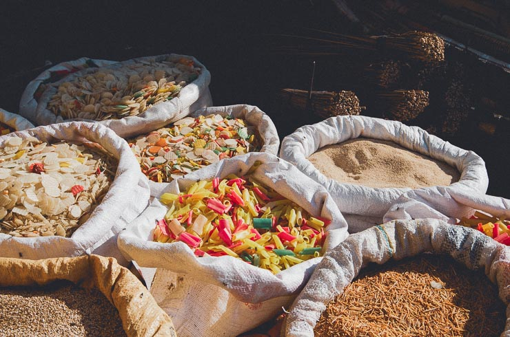 Snack, som først skal frituresteges.