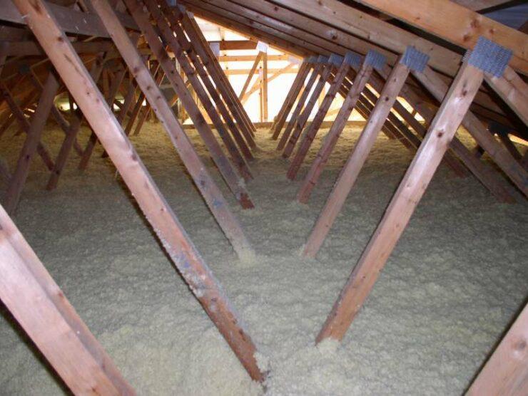 Referencia izolácie väzníkového krovu Moštenica 2