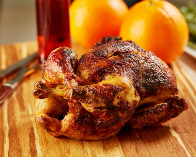 Super Quick and Easy Whole Roasted Chicken