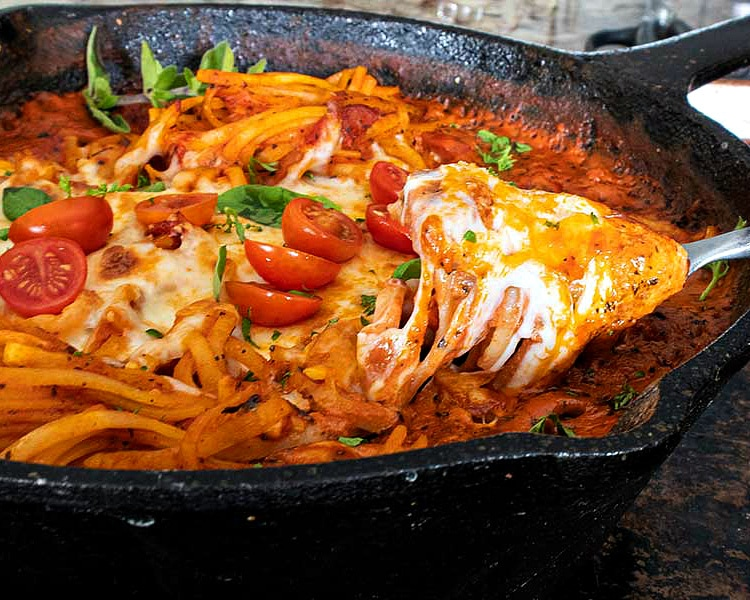 creamy tomato pasta, gluten free