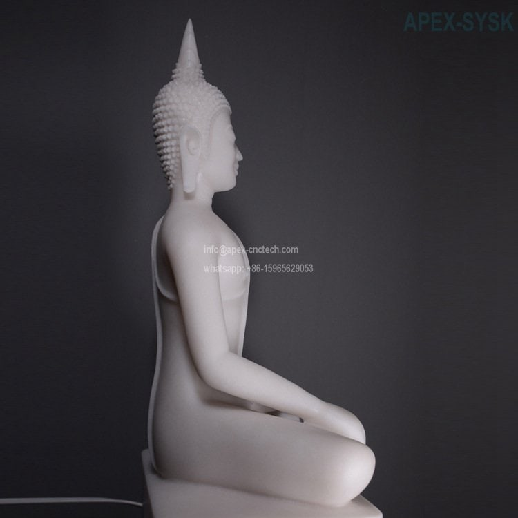 Buddha Statue made by 5 axis cnc machine for sale
