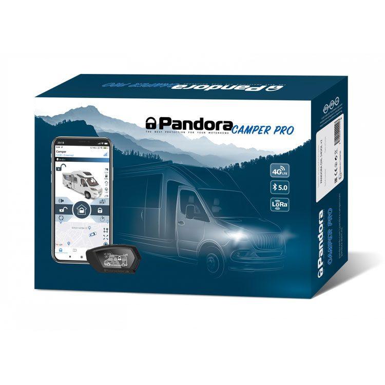 Pandora Camper Pro V2 Alarmanlage mit Funk Pager bius zu 2 km Reichweite und 4G LTE