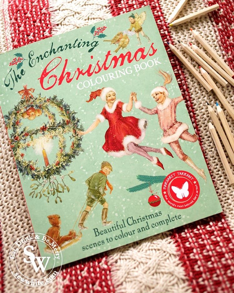 The Enchanting Christmas Colouring Book in the top 5 Craft Gifts for Christmas