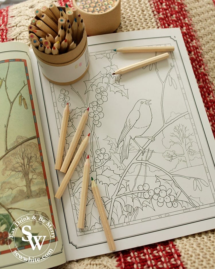 Christmas mindfulness with colouring in the top 5 Craft Gifts for Christmas