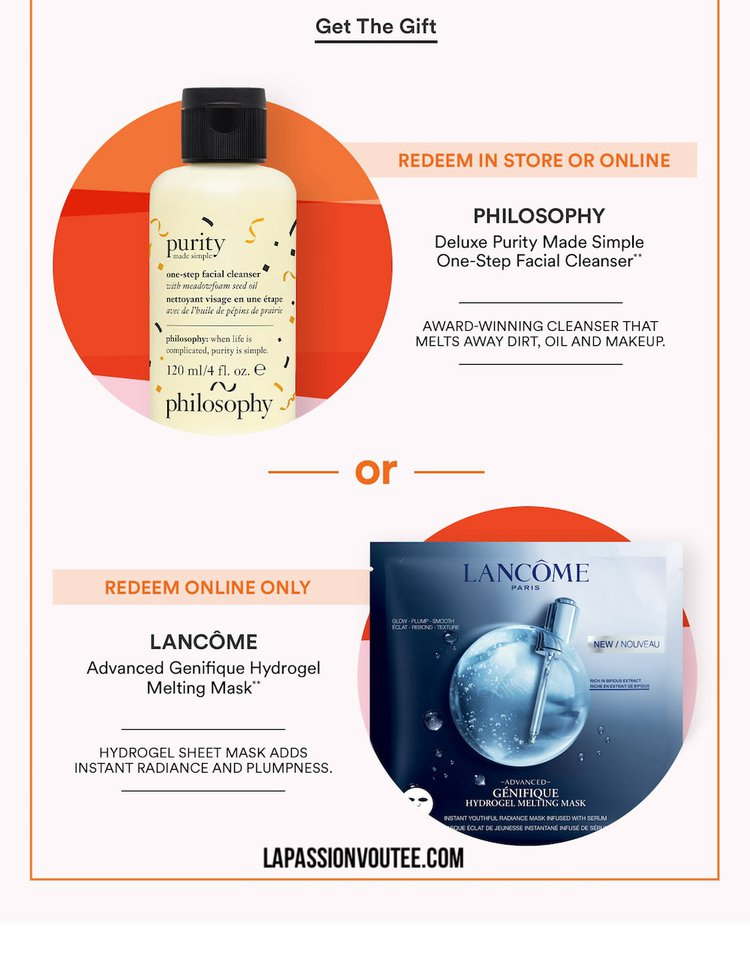 2021 Ulta April Birthday Gift - Philosophy Purity Made Simple One-Step Facial Cleanser
