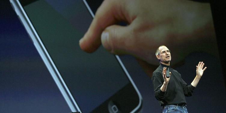 Steve Jobs iPhone presentation