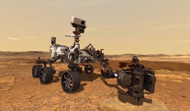 Mars - Rover Perseverance