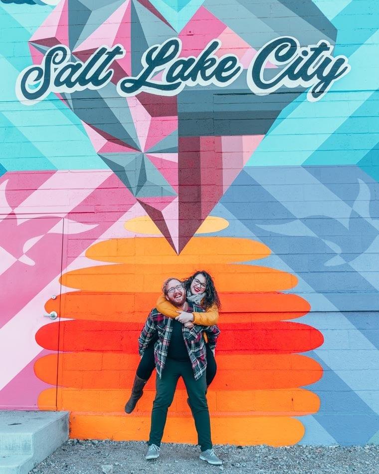 Lia and Jeremy Garcia from Practical Wanderlust in Salt Lake City, Utah.