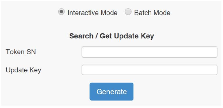 Epass Intraction mode