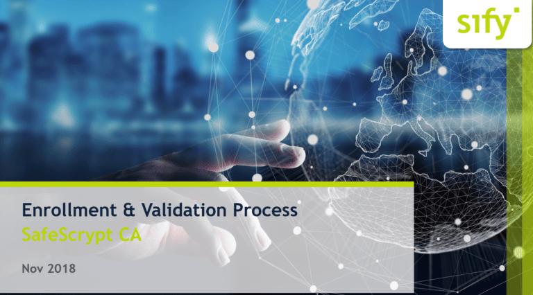 Sify New DSC Process Validation