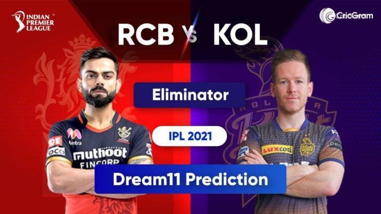 BLR vs KOL Dream11 Team Prediction IPL 2021 11th October 2021