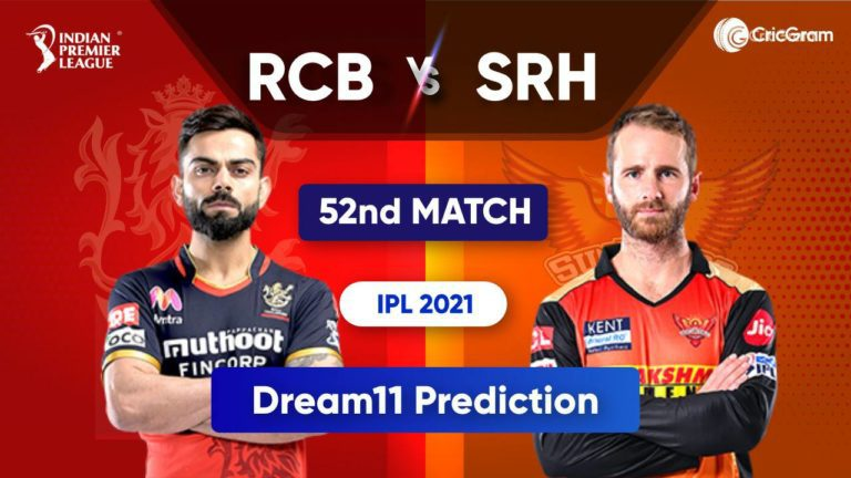 BLR vs SRH Dream11 Team Prediction IPL 2021 6th October 2021