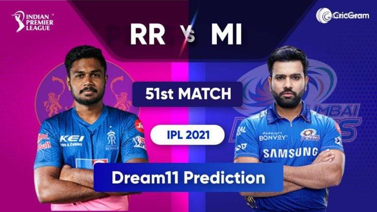 RR vs MI Dream11 Team Prediction IPL 2021 5th October 2021