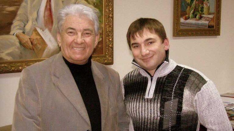 Константин Тетруев и поэт Вадим Крищенко