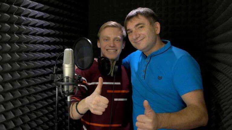 Константин Тетруев - Влад Белик в студии звукозаписи STUDIO MASTER