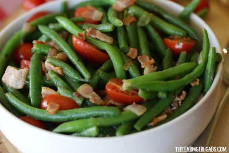 Easy Green Bean And Bacon Salad