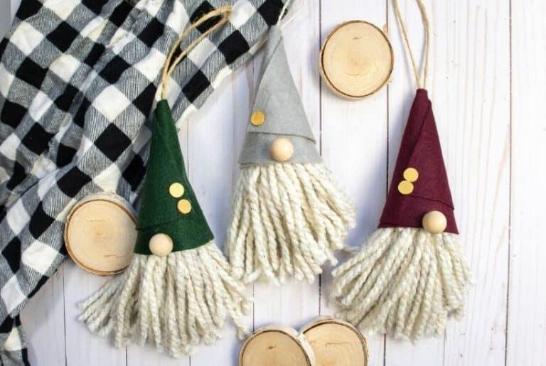 Christmas DIY Gnome Ornament