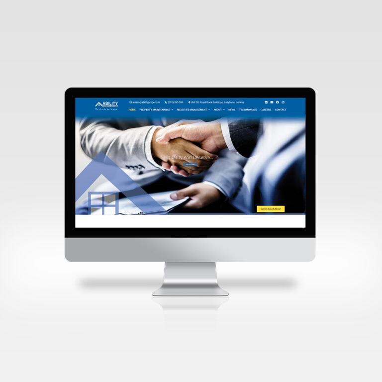 Responsive Website Design - Ability Property - Designwest