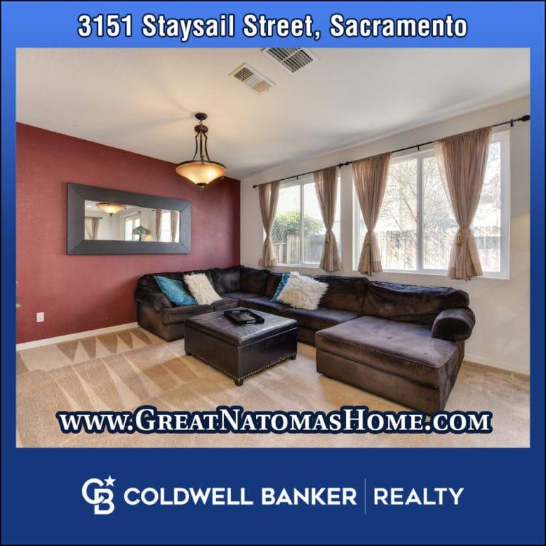 3151 Staysail Sacramento Natomas Home for Sale
