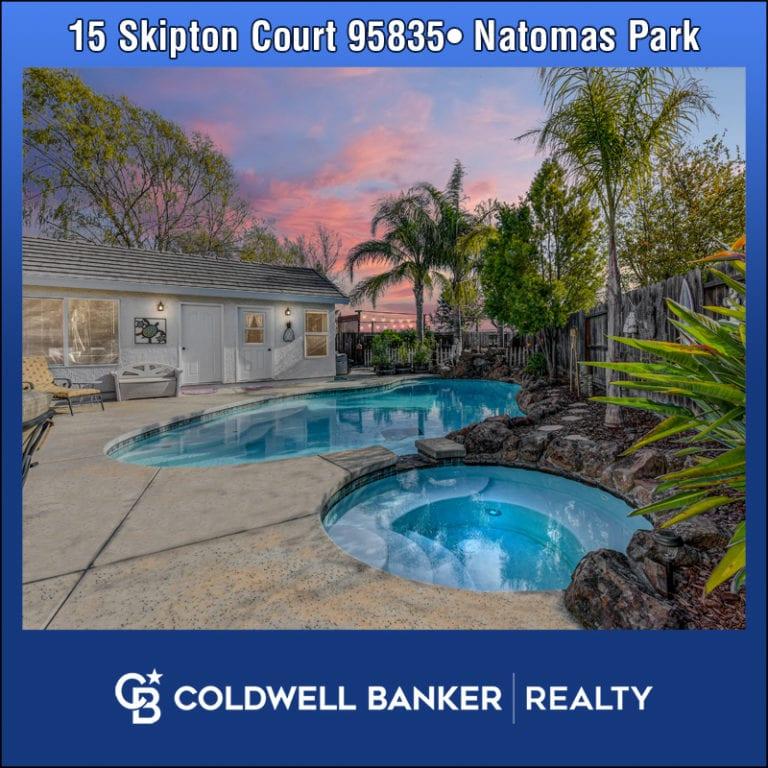 15 Skipton Ct for Sale Natomas Park
