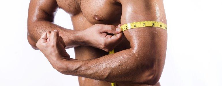Mit Weight Gain Pulver Masse gewinnen